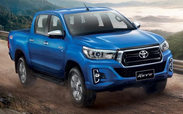 Toyota обнови пикапа Hilux