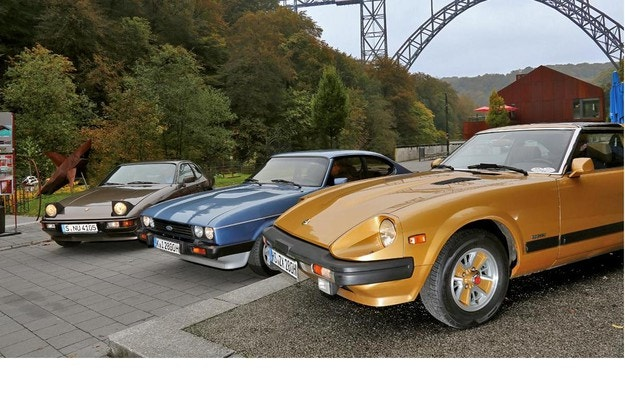 Datsun 280ZX, Ford Capri 2.8i, Porsche 924: Универсални бойци