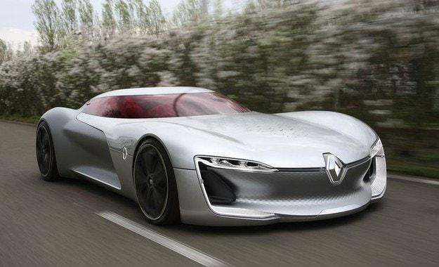 Renault Trezor: Рапсодия в червено