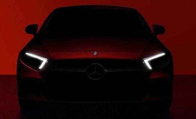 Mercedes-Benz пусна първите тийзъри на новия CLS
