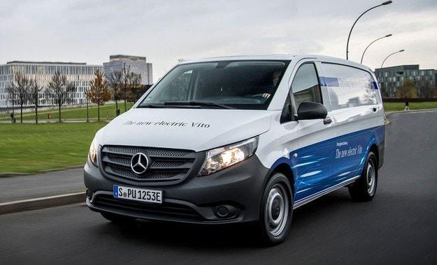 Mercedes eVito: Електрическият ван стъпва 2018