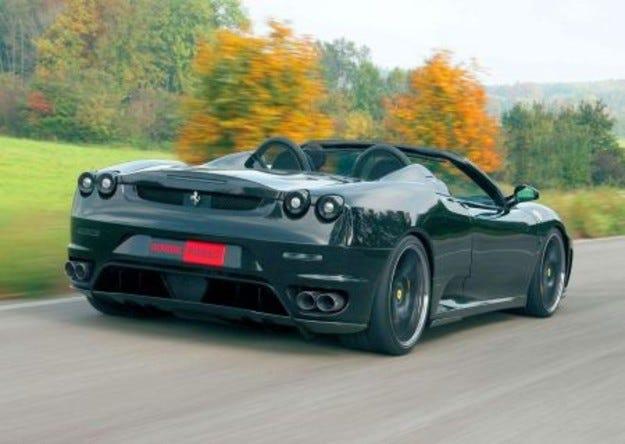 Novitec Ferrari F430 Spyder