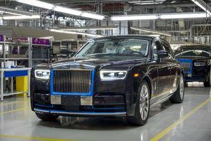 Първият Rolls-Royce Phantom на търг