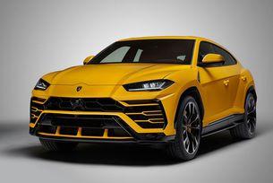 Lamborghini разкри новия всъдеход Urus