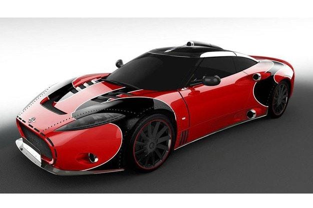 Spyker C8 Aileron LM85: За финала специален LeMans