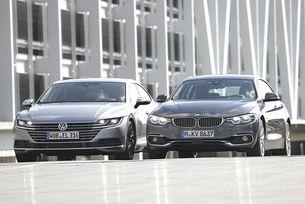 BMW Серия 4 Gran Coupé и VW Arteon в сравнителен тест
