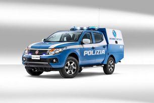 Fiat Fullback стана мобилна полицейска лаборатория