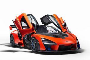 McLaren направи модел в чест на Аертон Сена
