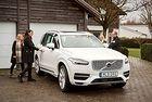 Стартира проектът на Volvo за автономни технологии