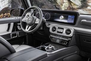 Mercedes-Benz разкри интериора на новата G-класа