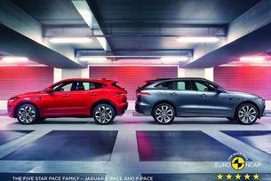 Euro NCAP присъди на Jaguar F-Pace най-висок рейтинг