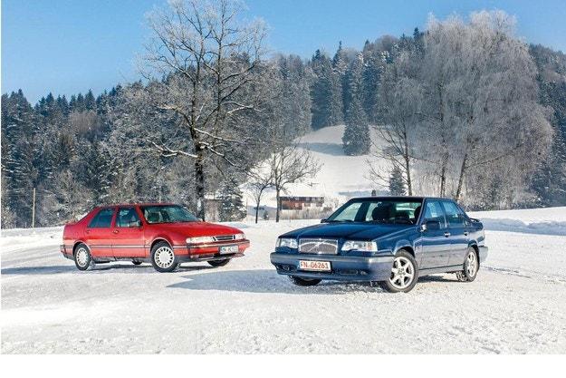 Saab 9000 Turbo и Volvo 850 T-5: Северна комбинация