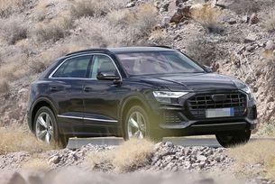 Издебнаха Audi Q8 почти без камуфлаж