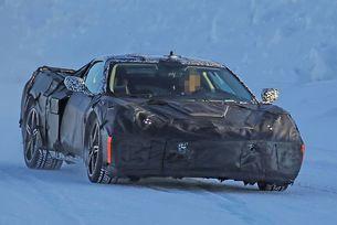 Chevrolet Corvette C8 (2018) гасролира в Детройт