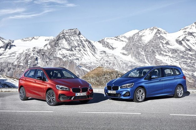 Обновиха BMW Серия 2 & Gran Tourer  (2018)