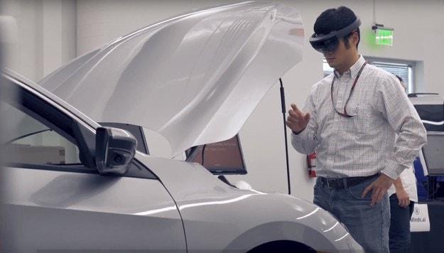 HD и обогатена реалност чрез Honda Xcelerator
