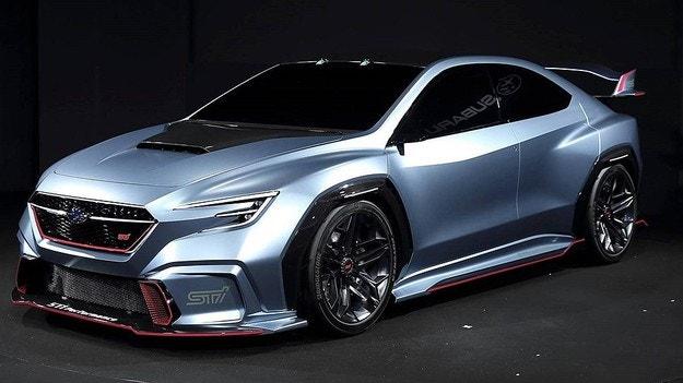 Subaru представи прототип на спортен седан