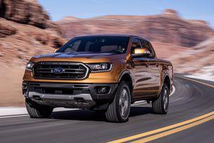 Новият пикап Ford Ranger дебютира в Детройт
