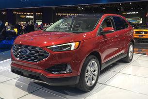 Ford обнови кросоувъра Edge