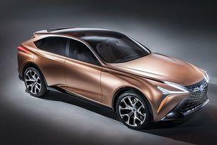 Lexus показа концепт на кросоувъра LF-1 Limitless