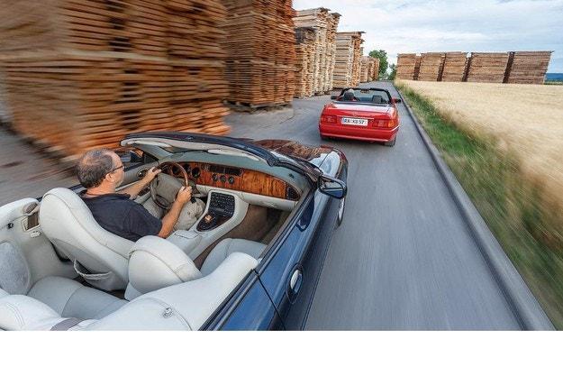 Jaguar XK8 и Mercedes-Benz 300 SL: Елитна селекция