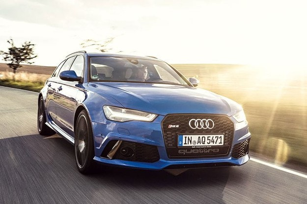 Това е Audi RS 6 Avant Performance Nogaro Edition