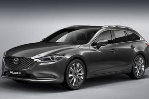 """Mazda показа обновената """"шестица"""" с каросерия  комби"""