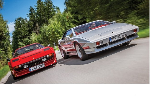 Ferrari 208 GTB Turbo и Lotus Turbo Esprit: Тяга и настроение