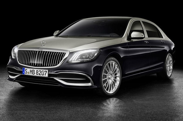 Mercedes-Maybach обнови седана S-класа