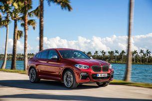 BMW представя новото купе-кросоувър X4