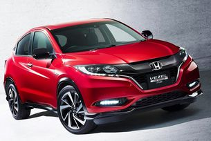 Honda обнови кросоувъра HR-V
