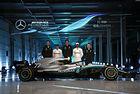 Mercedes ще преследва пета поредна титла с W09