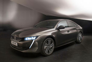Peugeot придава на новия 508 fastback дизайн