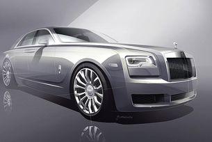 Спецверсия на Rolls-Royce Ghost в чест на модел от 1907