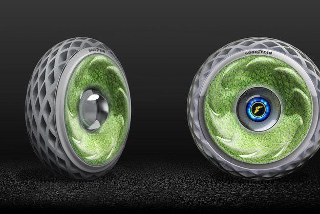 Goodyear представя концептуалната гума Oxygene