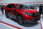 Honda CR-V стана хибрид със седем места
