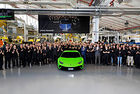 От конвейера слезе 10 000-ният Lamborghini Huracan