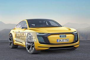 Audi E-Tron GT (2020) идва на пазара през 2020