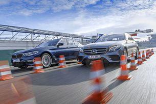 BMW 530i срещу Mercedes E 300