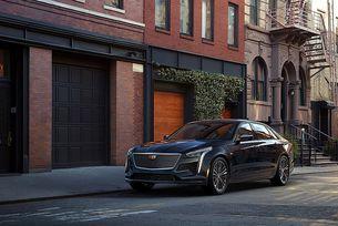 Cadillac представя седана CT6 V-Sport