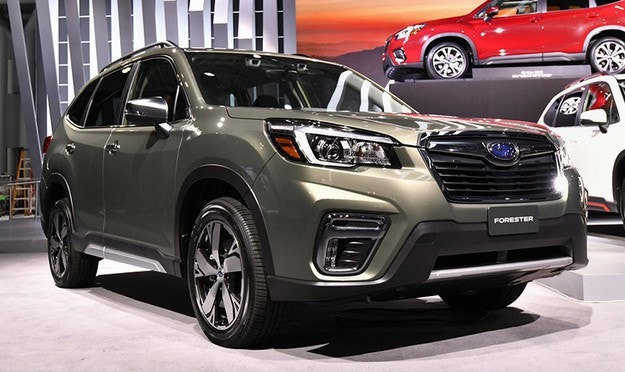 Subaru разкри новия Forester на салона в Ню Йорк
