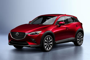 Mazda CX-3 със значително променен интериор