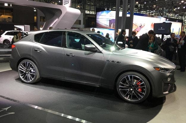 Maserati показа супер мощна версия на Levante