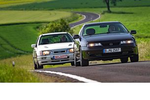 Ford Sierra RS Cosworth 4x4 и Opel Calibra Turbo 4x4