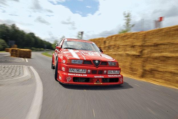 Импресия Alfa Romeo 155 V6 TI DTM: Код Червено