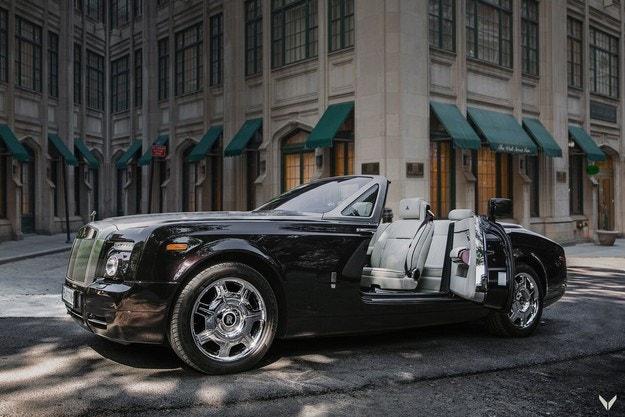 Rolls-Royce Phantom Drophead Coupé от Vilner Design