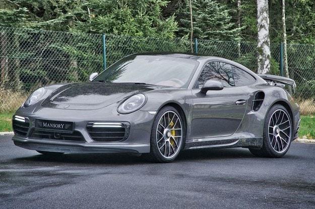 Mansory Porsche 911 Turbo: Изобилие от карбон и кожа