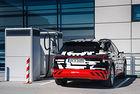 Електрическото Audi ще се зарежда по-бързо от Tesla