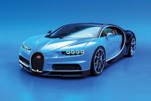 Bugatti Chiron: 1500 к.с., W16 и още динамика