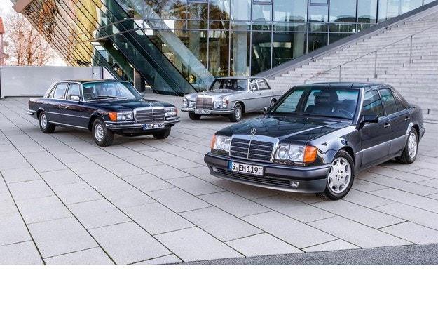 Mercedes-Benz 300 SEL 6.3, 450 SEL 6.9 и 500 E: Звезден прах